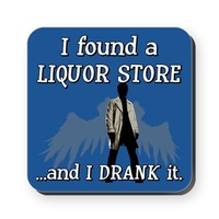 SUPERNATURAL I DRANK IT Cork Coaster