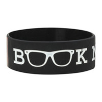 Book Nerd Rubber Bracelet