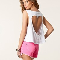 Cutout Heart Back Tank from Sunkissed Dreams