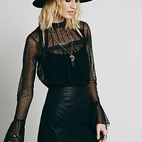 Free People Womens Last Kiss Blouse