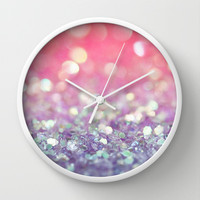 Fantasy Wall Clock by Lisa Argyropoulos
