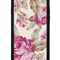 Cream Floral iPhone 6/6s Case