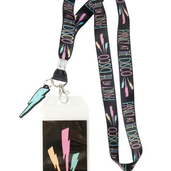 Panic! At The Disco Lightning Bolts Lanyard