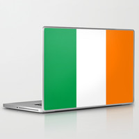 National flag of the Republic of Ireland - Authentic 3:5 Version Laptop & iPad Skin by LonestarDesigns2020 - Flags Designs +