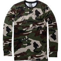 Volcom First Layer Crew Top - Men's Camouflage,