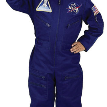 Boy's Costume: Flight Suit with Cap   Small