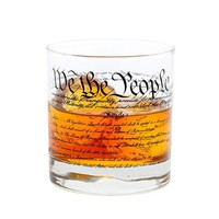 Constitution Rocks Glass