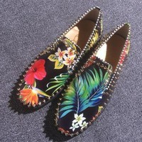 DCCK Cl Christian Louboutin Flat Style #783