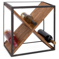 Crossed Wine Rack