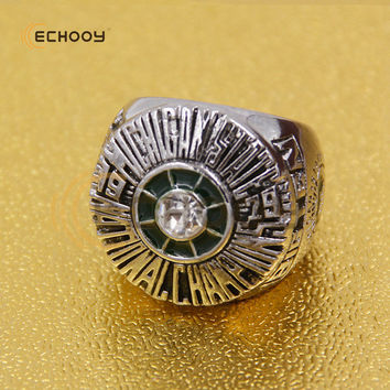 1979 big ten  Michigan State Spartans Basketball National Championship Ring with wooden red box