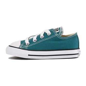 LMFUG7 Converse for Infants Chuck Taylor All Star Ox Rebel Teal Sneaker