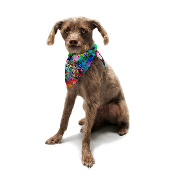 "Ebi Emporium ""Jungle Fever"" Multicolor Pet Bandana"