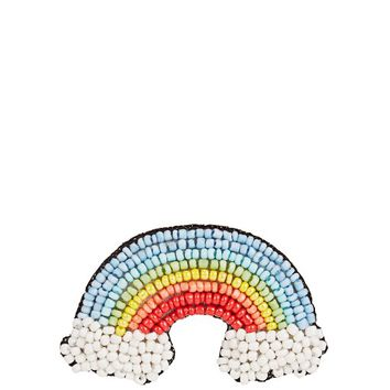 Bead-embellished rainbow brooch | HUDA AL NUAIMI | MATCHESFASHION.COM US