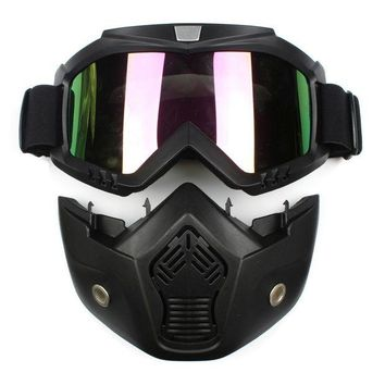 ac NOOW2 Ski Skate Motorcycle Goggle Motocross Goggles Helmet Glasses Windproof off Road Moto Cross Helmets Mask Goggles