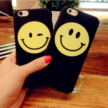 Fashion smile Phone Case Cover for Apple iPhone 7 7 Plus 5S 5 SE 6 6S 6 Plus 6S Plus + Nice gift box! LJ161101-007