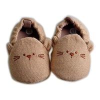 Little One Mouse Baby Boy Slip On Shoes