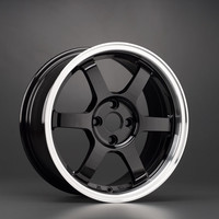 17x7.5 Rota Grid - Royal Black(5x100/e48/56.1) Wheeldude.com - Professional wheel dealer.