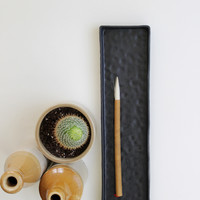 Porcelain Clay Long Pinched Tray