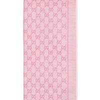 Gucci GG Jacquard Wool Scarf | Nordstrom