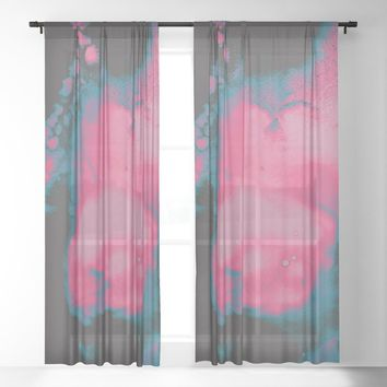 Disco Candy Sheer Curtain by duckyb
