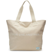 TOMS - Natural For One Another Transport Tote Bag