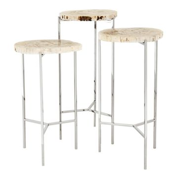 Wooden Side Table (Set of 3) | Eichholtz Newson