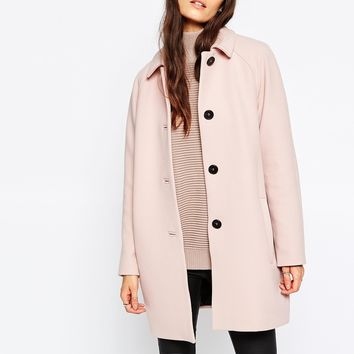 Selected Inva 60's Coat at asos.com