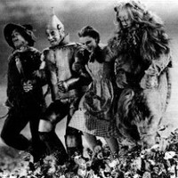 Wizard Of Oz #112 Skipping Down Hill - 8x10 Photograph Black & White