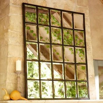 Eagan Multipanel Large Mirror | Pottery Barn