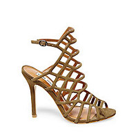 Caged Sandals with High Heels | Steve Madden SLITHUR