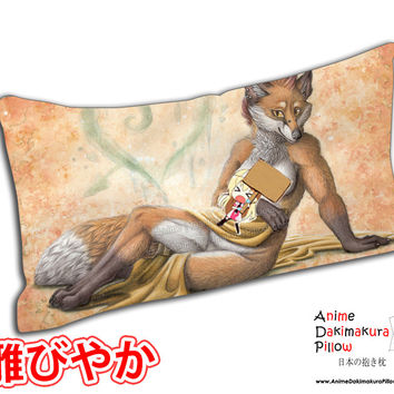 New Classic Vixen Anime Rectangle Dakimakura Japanese Pillow Cover Custom Designer Schiraki ADC359