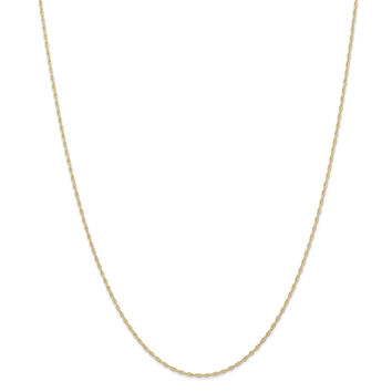 14K  1.15mmCarded Cable Rope Chain 9RY