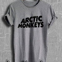 Arctic Monkeys Shirt Arctic Monkeys Tour Merch Tshirt Unisex Size Shirt