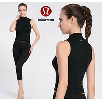 Lululemon Women Yoga Gym Running Sport Shirt Top Tee