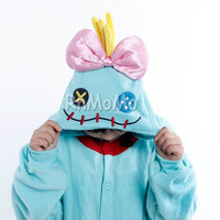 KIGURUMI Cosplay Romper Charactor animal Hooded Night clothes Pajamas Pyjamas Costume sloth Onesuit outfit Sleepwear Xiaojin