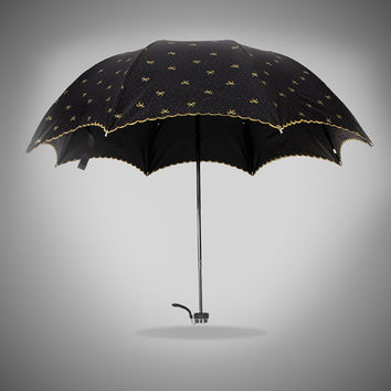 Stylish Design Strong Character Korean Butterfly Uv Proof Umbrella [4918245700]