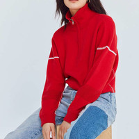 Silence + Noise Double-Knit Half-Zip Pullover Sweater | Urban Outfitters