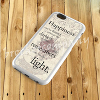 Happiness Quote Harry Potter cover phone for iPhone 4/4s,5/5s,5C,6,6+, iPod touch 4th/5th, Galaxy S3,S4,S5, Note 2/3, HTC One M7/