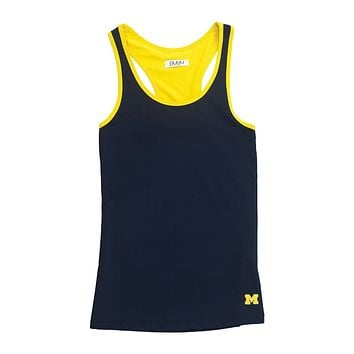 University of Michigan Yoga Tank