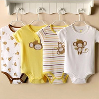 4-pack bodysuits gift set - Monkey