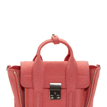 3.1 Phillip Lim Salmon Pink Grained Leather Pashli Mini Satchel