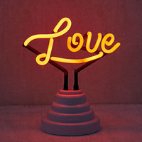 Love Neon Sign Table Lamp | Urban Outfitters