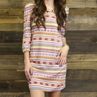Infinite Summer Tribal Print Dress