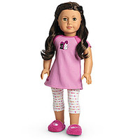 American Girl® Clothing: I Love Pets Pajamas for Dolls + Charm