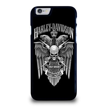 HARLEY DAVIDSON SKULL EAGLE iPhone 6 / 6S Case Cover