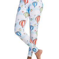 ModCloth Quirky Skinny Fresh Take Leggings in Balloons
