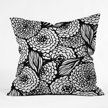 Julia Da Rocha Bouquet Of Flowers Love Throw Pillow