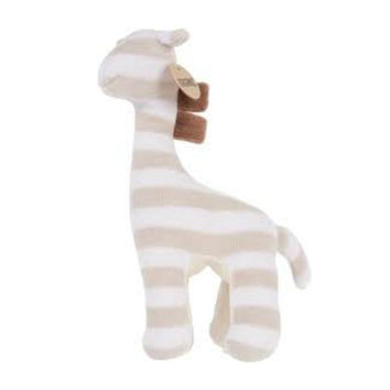 Olive & Pickles Organic Giraffe Rattle Toy