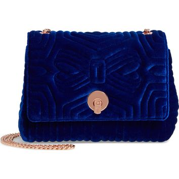 Ted Baker London Quilted Velvet Crossbody Bag | Nordstrom