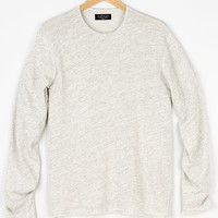 RICARDO HEATHER JERSEY KNIT CREW NECK